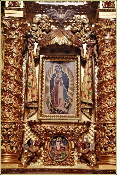 Virgen de Nuestra Sra de Guadalupe