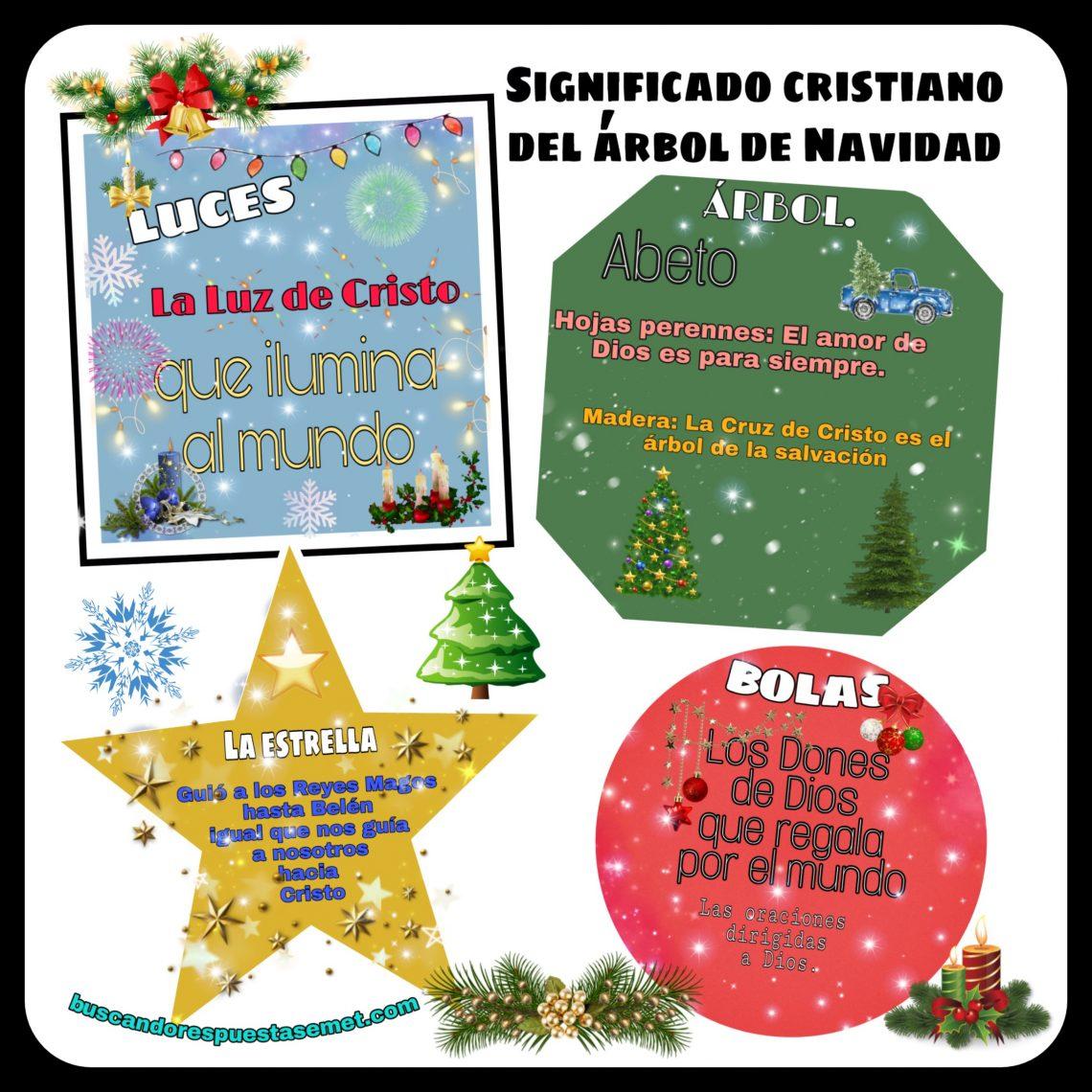 El significado cristiano del árbol de navidad