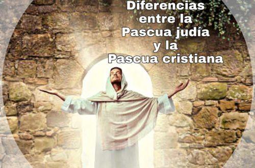 4º capítulo sobre la pascua cristiana. Diferencias entre la pascua judía y la pascua cristiana