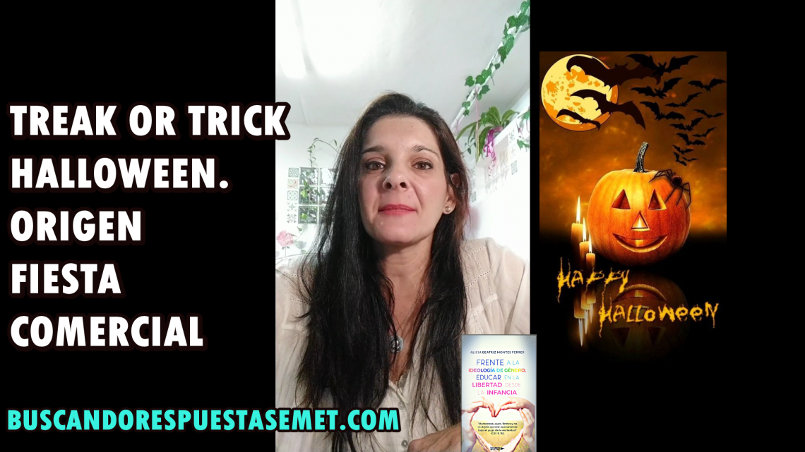 Halloween Treak or Trick, origen fiesta comercial